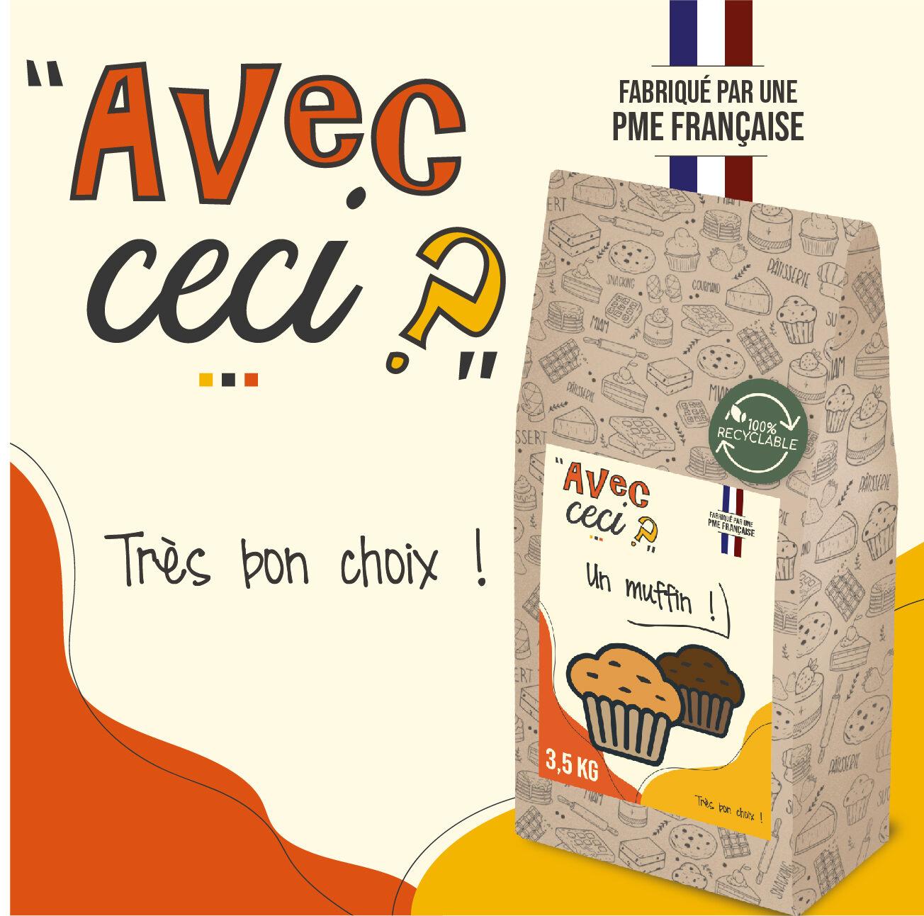 """Préparations culinaires salées et sucrées   SOMAPRO - Somapro lance la marque """"AVEC CECI ?"""" - somapro lance avec ceci e1619686437529 - 1"""